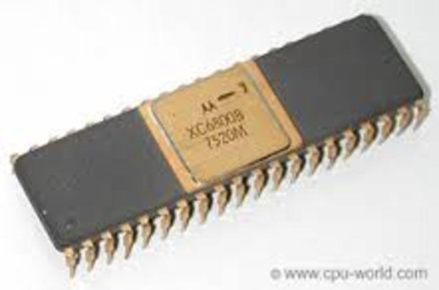 Introducción de los microprocesadores