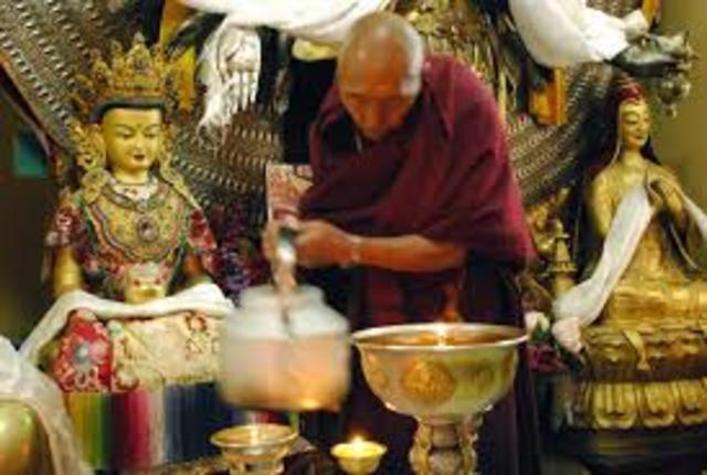 From Buddhist Monks to the Chinese