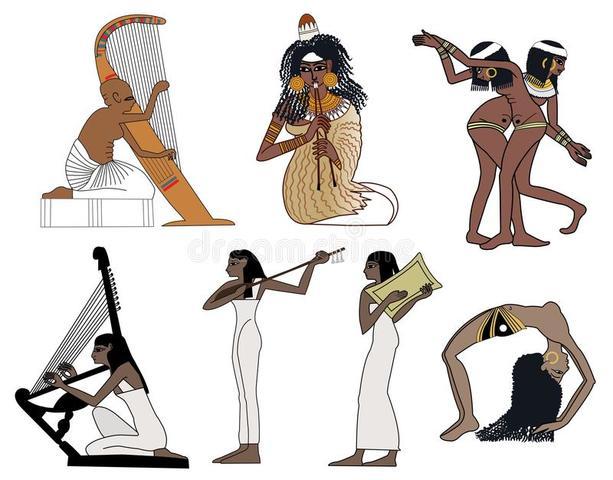 Instrumentos musicales del antiguo Egipto: