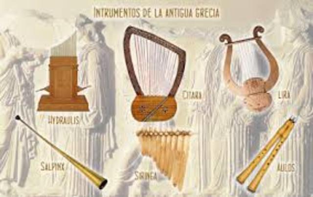 La música en la antigua Grecia