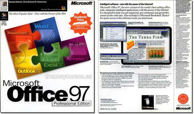 Microsoft Excel 8.0