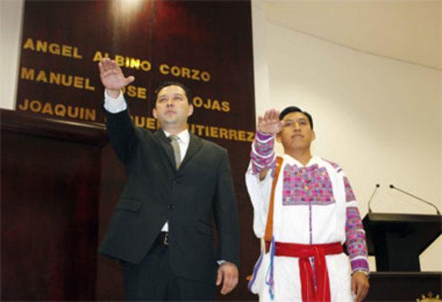 Consejero Indígena Tseltal Lorenzo López Méndez.