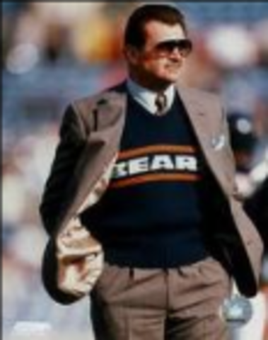 Mike Ditka hired as the Chicago Bears Head Coach by George Hales