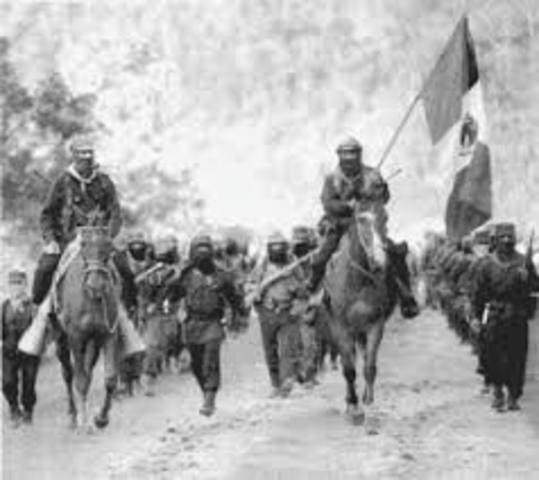 Zapatistas in Chiapas