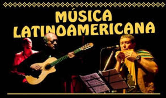La música en Latinoamérica