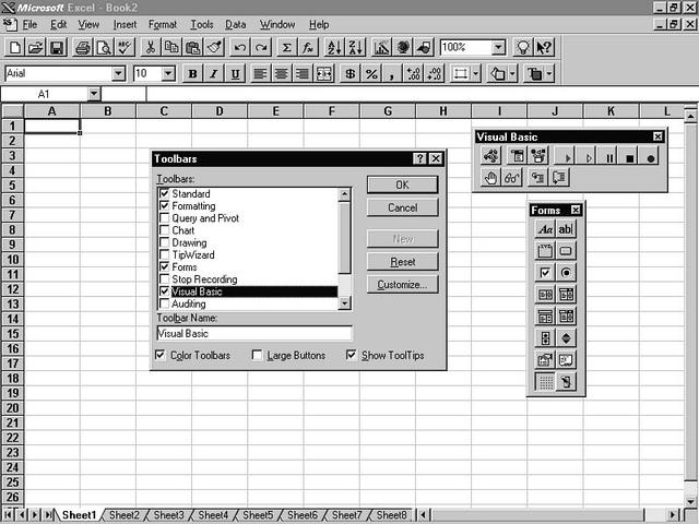 Microsoft Excel 7.0 (1995)