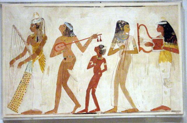 La música de Mesopotamia