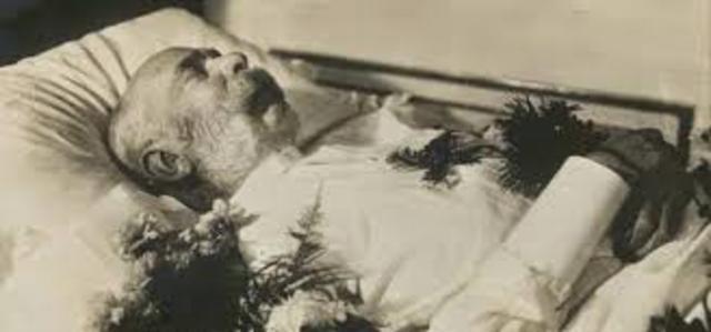 Muere Francisco José I.