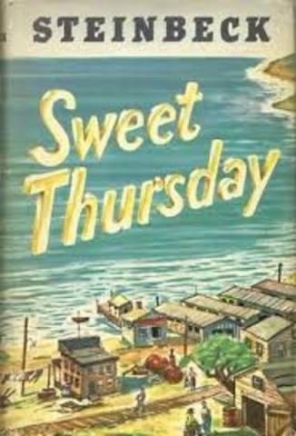 Sweet Thursday Published