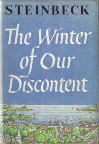 The Winter of Our Discontent Published