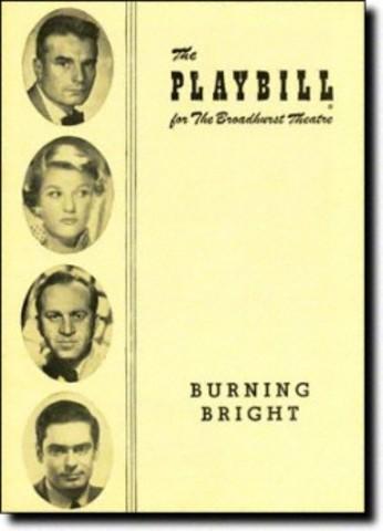 Play: Burning Bright