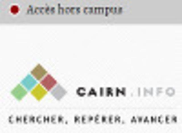 Rentrée 2018-2019 Cairn accessible Hors Campus