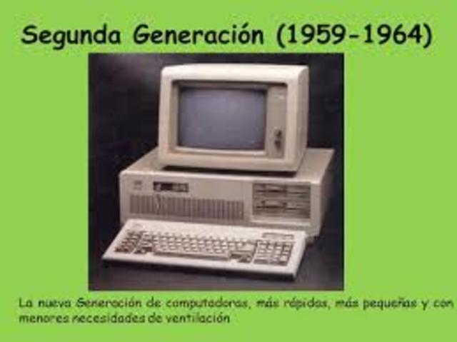 Segunda Gerenación De Las Computadoras (1958-1964)