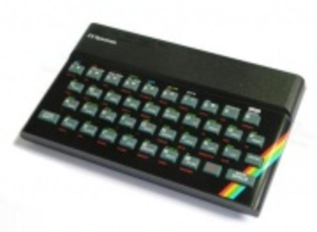 Sinclair lanza el ZX Spectrum