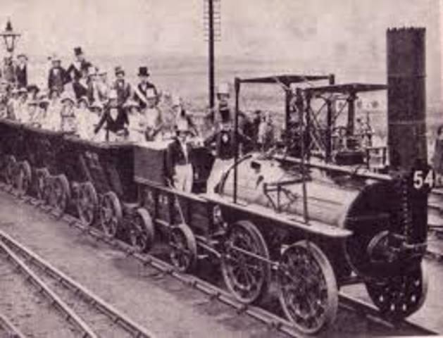 Primer tren de pasajeros