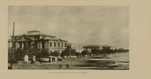 INAGURACIÒN DEL PALACIO DE LA HIGIENE