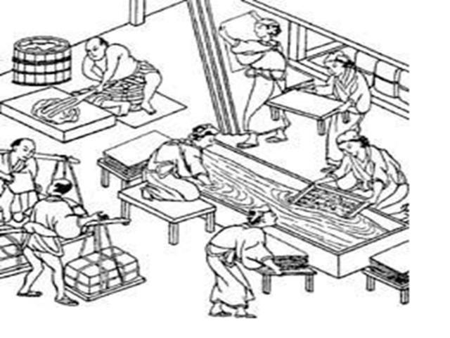105 a.C.: Invenção do papel.