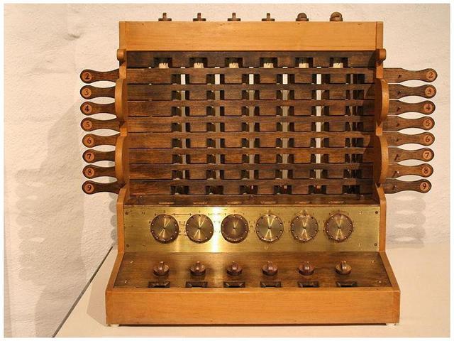 1600 -1623: Invenção das calculadoras