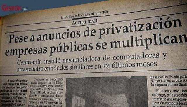 PRIVATIZACIÓN DE LAS EMPRESAS DEL ESTADO