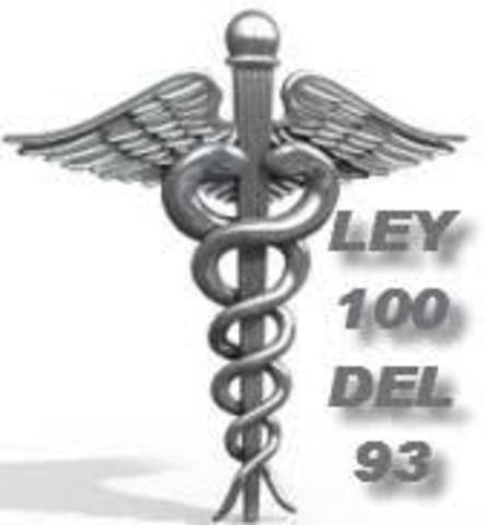 PROMULGACIÓN DE LA LEY 100