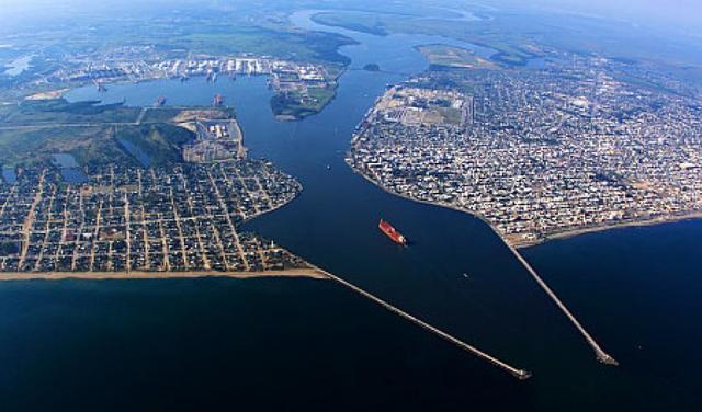 El puerto de Coatzacoalcos
