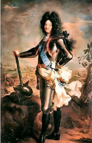 Muore Luigi XIV.