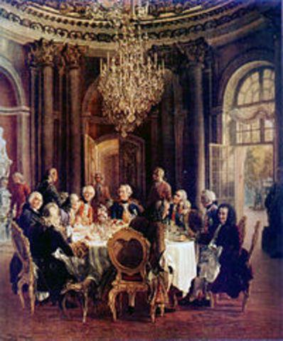 Voltaire a corte