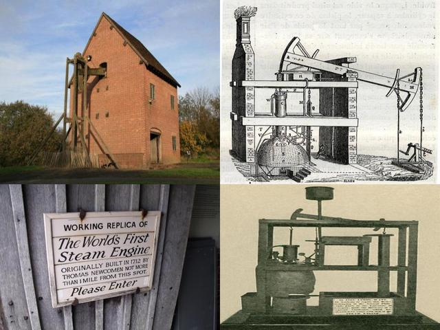 The First Practical Steam Engine