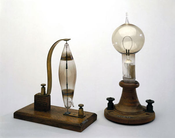 The First Electric Lightbulb
