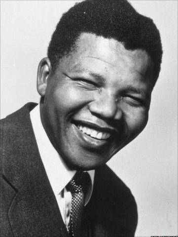 Nelson Mandela was born
