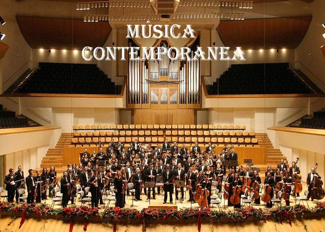 La música contemporánea (desde 1945 hasta la actualidad)