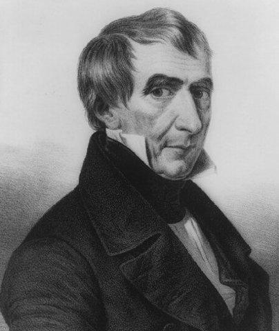 President Henry Harrison Dies