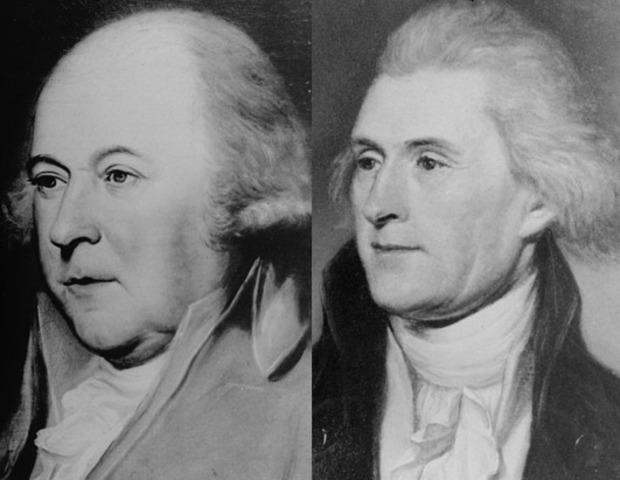 Addresses on the deaths of John Adams and Thomas Jefferson