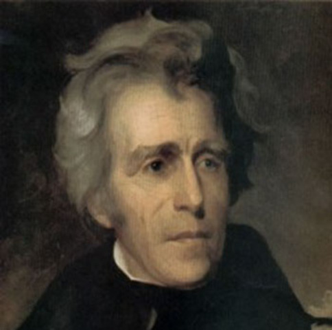 Joined Andrew Jackson