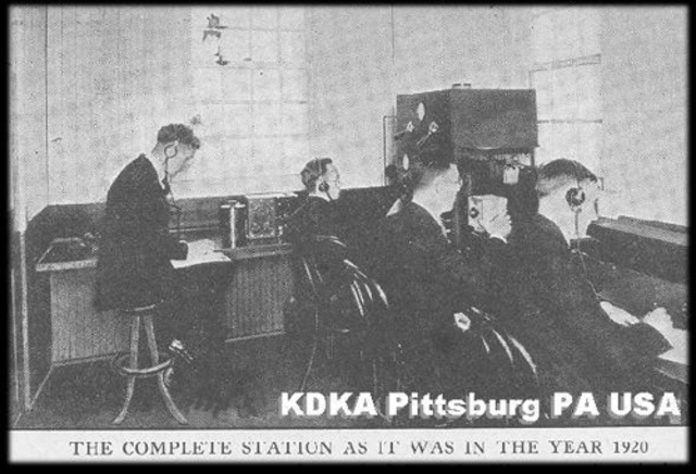 First Commercial American Radio Station