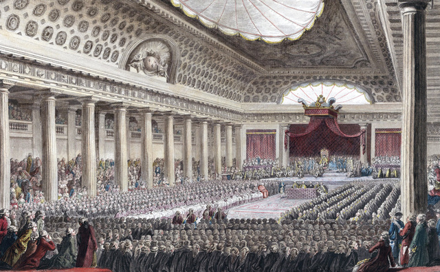 Reunión de los Estados Generales en Versalles
