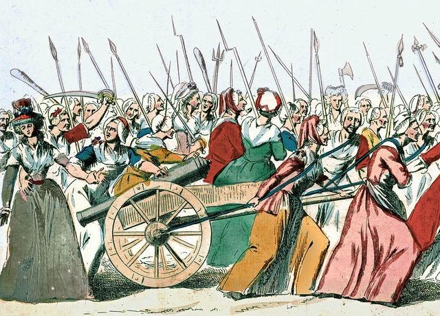 Marcha de mujeres a Versalles