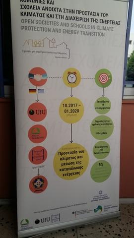 """Σεμινάριο για το Πρόγραμμα """"Ανοικτές κοινωνίες και σχολεία για την προστασία του κλίματος και τη διαχείριση της ενέργειας"""", Μέρος Β'"""