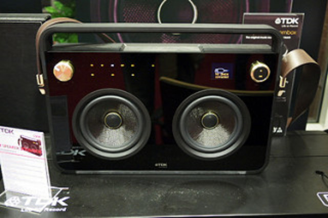 Philips Invents the Boombox