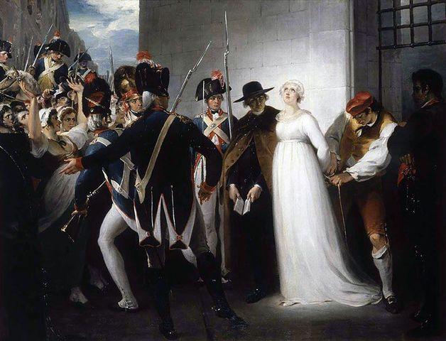 Ejecución de María Antonieta