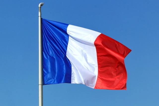 La bandera tricolor adoptada para bandera de la República