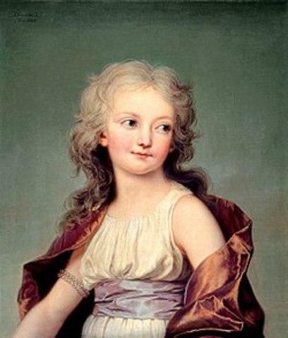 Nacimiento de María Teresa