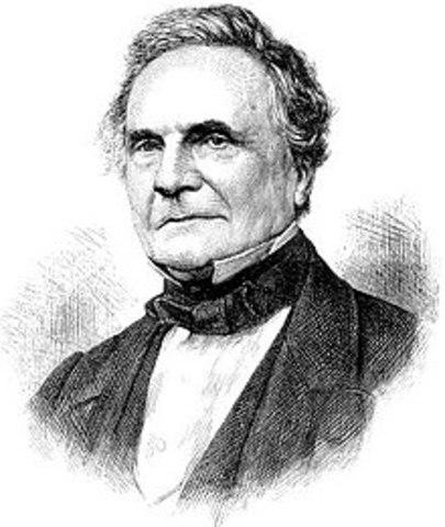 Matematico inglés Charles Babbage