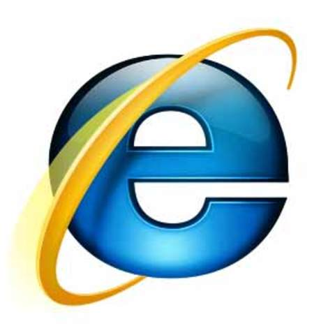Launch of Internet Explorer