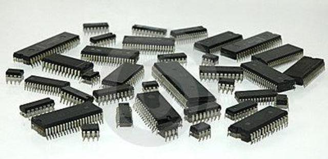 Circuitos integrados: los chips.