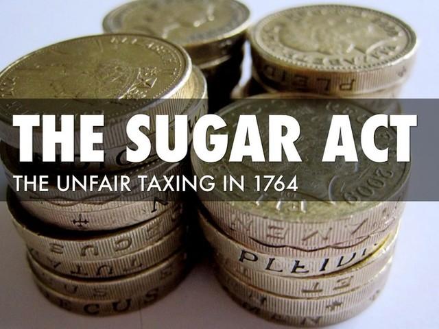 Sugar and Molasses Act