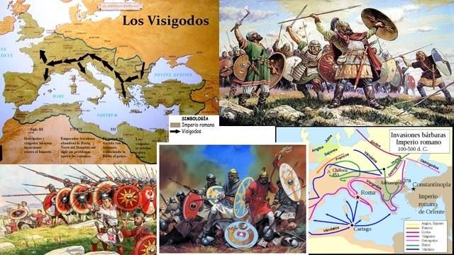 INFLUENCIA DE LOS VISIGODOS 414 d.C