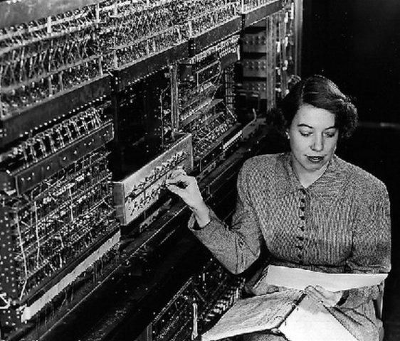 1a generación del computo.