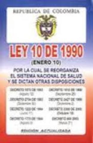 Ley 10 de 1990