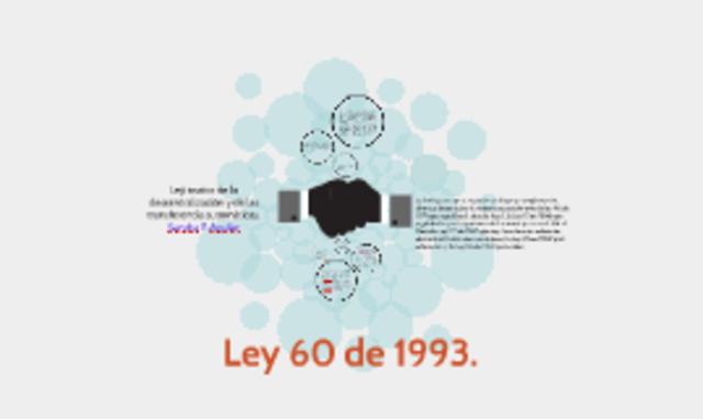 Ley 60 de 1993